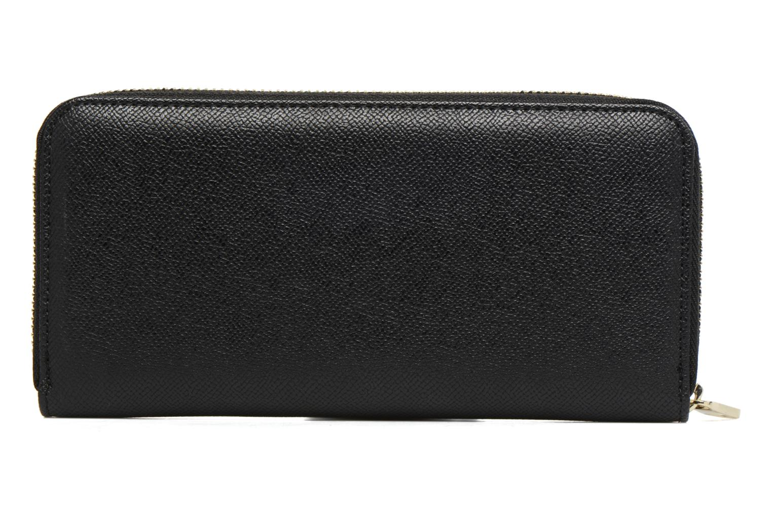 Wallets & cases Guess Isabeau Large zip around Black front view