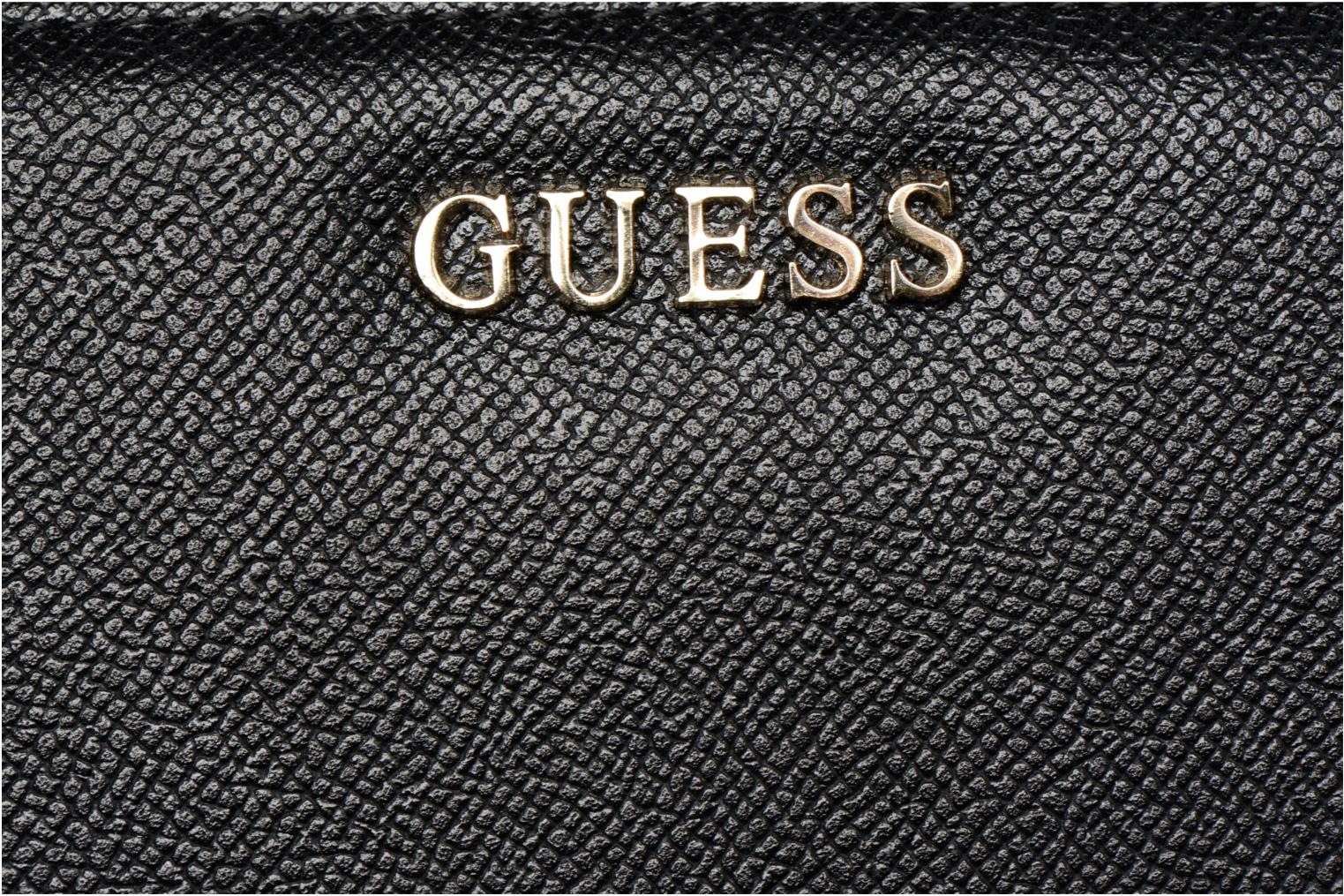 Wallets & cases Guess Isabeau Large zip around Black view from the left