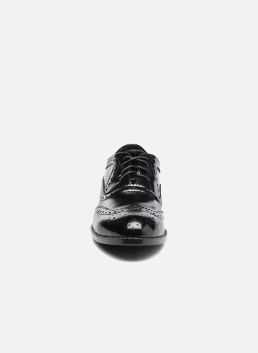 Zapatos con cordones I Love Shoes KIBROG Negro vista del modelo