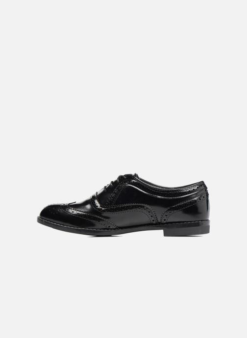 Zapatos con cordones I Love Shoes KIBROG Negro vista de frente