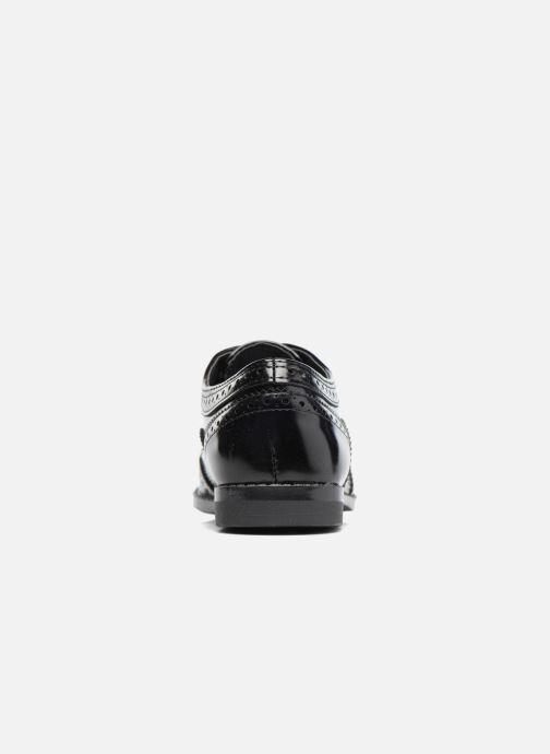 Zapatos con cordones I Love Shoes KIBROG Negro vista lateral derecha