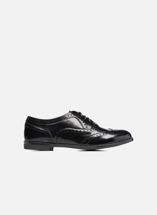 Zapatos con cordones I Love Shoes KIBROG Negro vistra trasera