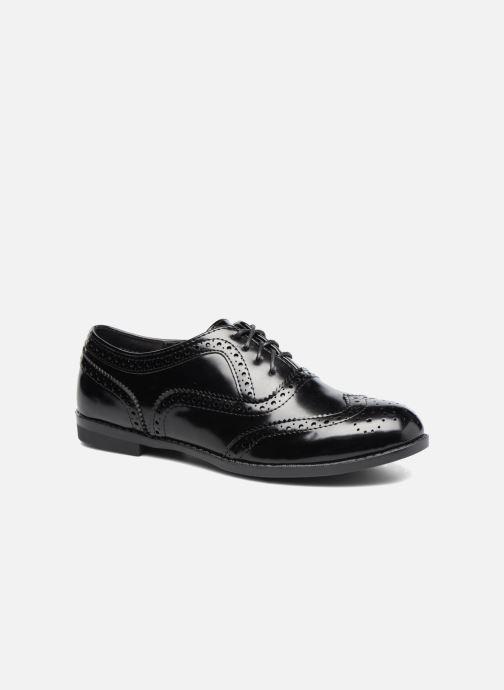 Zapatos con cordones I Love Shoes KIBROG Negro vista de detalle / par