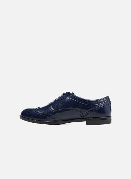 Zapatos con cordones I Love Shoes KIBROG Azul vista de frente