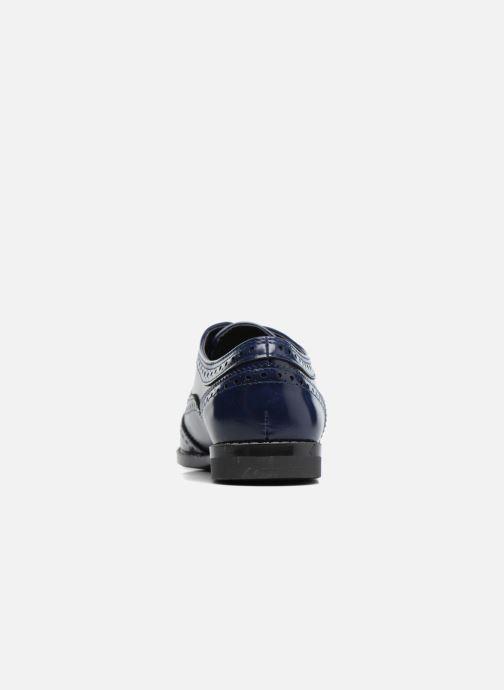 Zapatos con cordones I Love Shoes KIBROG Azul vista lateral derecha