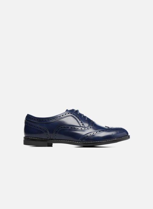 Schnürschuhe I Love Shoes KIBROG blau ansicht von hinten