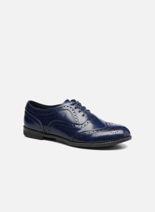 Zapatos con cordones I Love Shoes KIBROG Azul vista de detalle / par