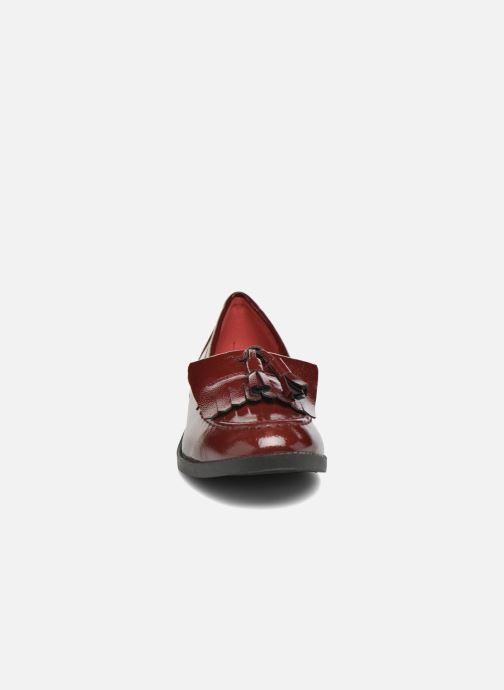 Mocassins I Love Shoes KIMOC Bordeaux vue portées chaussures