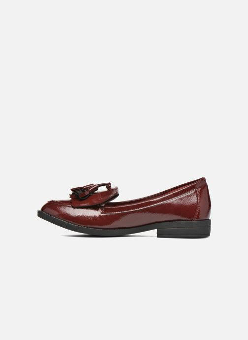 Mocassins I Love Shoes KIMOC Bordeaux vue face