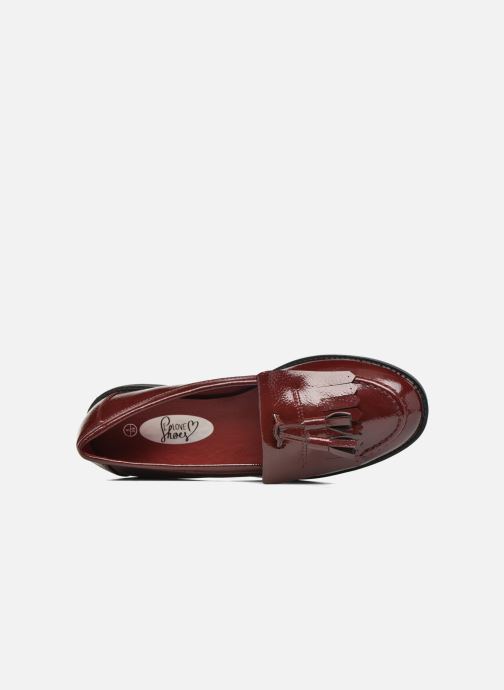 Loafers I Love Shoes KIMOC Burgundy view from the left