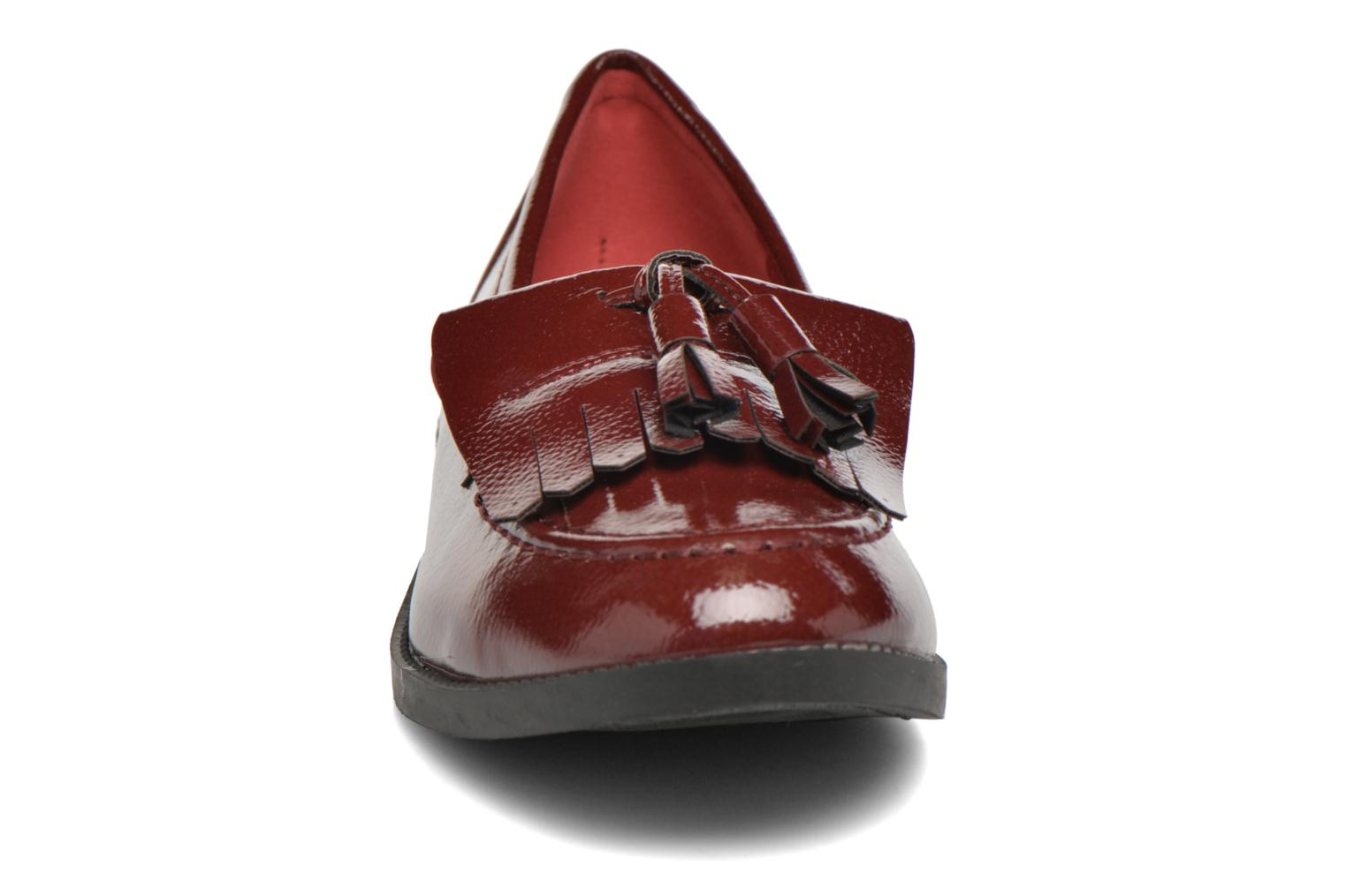 Loafers I Love Shoes KIMOC Burgundy model view
