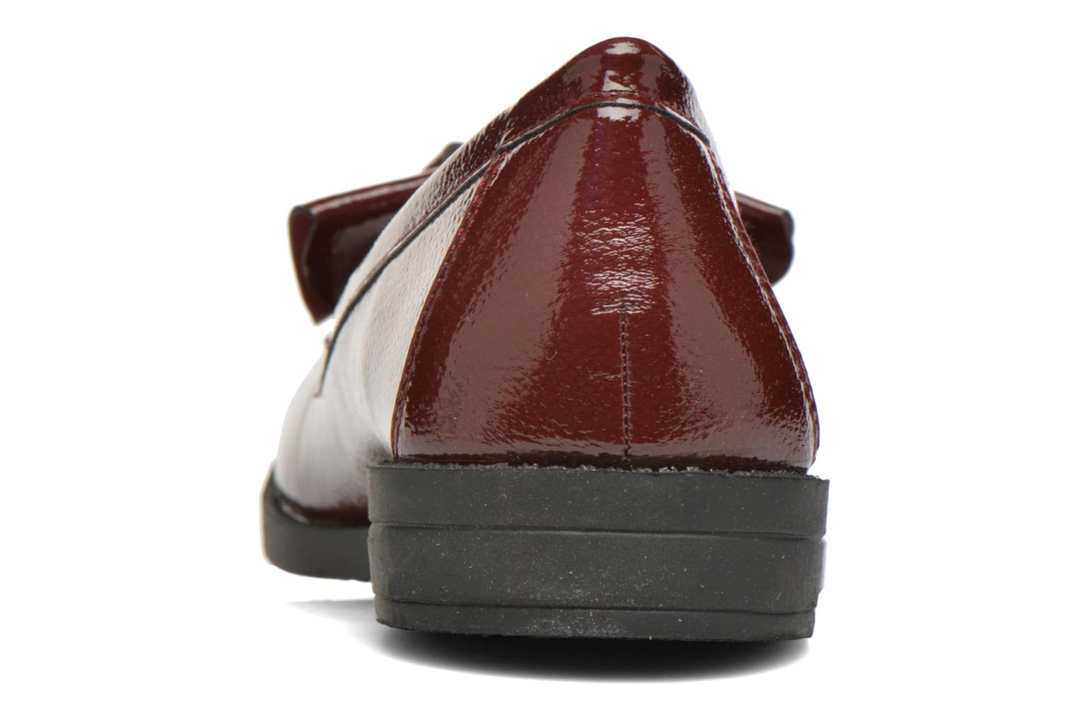 Loafers I Love Shoes KIMOC Burgundy view from the right