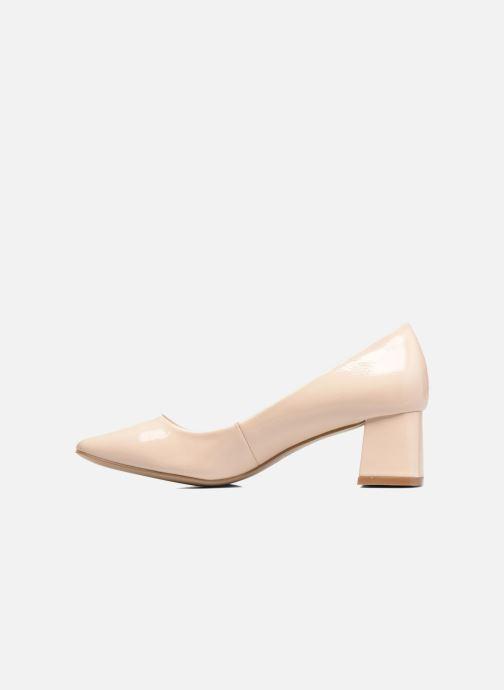 High heels I Love Shoes KICART Beige front view