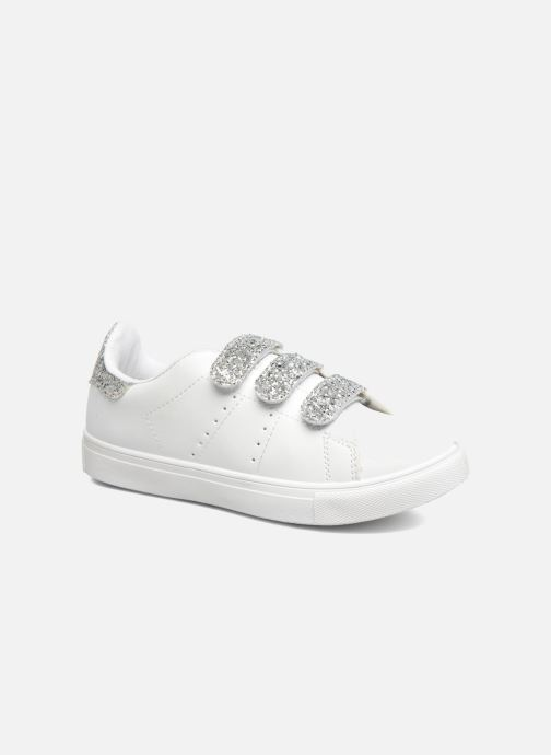 Baskets I Love Shoes KISKET Argent vue détail/paire