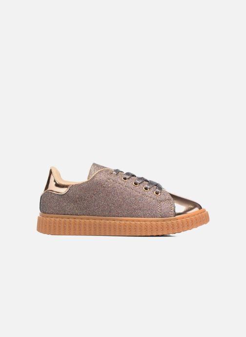 Baskets I Love Shoes KISKLONG Or et bronze vue derrière