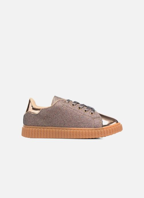 Trainers I Love Shoes KISKLONG Bronze and Gold back view