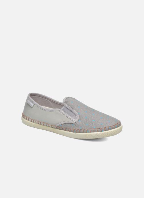 Sneakers P-L-D-M By Palladium Bora Print Cash Grijs detail