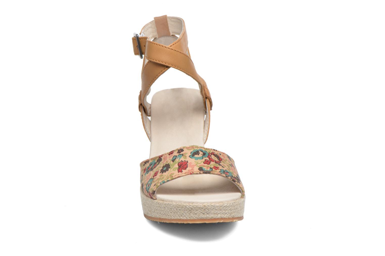Sandales et nu-pieds P-L-D-M By Palladium Walnut Print Marron vue portées chaussures