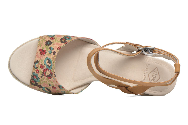 Sandales et nu-pieds P-L-D-M By Palladium Walnut Print Marron vue gauche