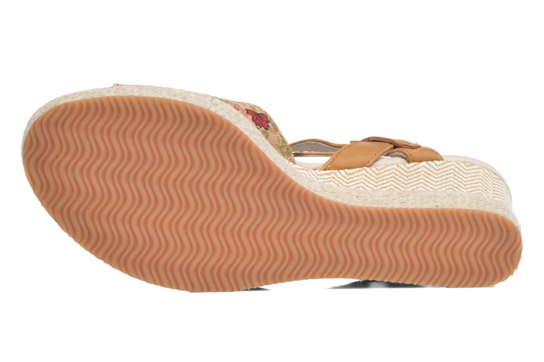 Sandales et nu-pieds P-L-D-M By Palladium Walnut Print Marron vue haut