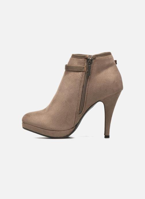 Boots en enkellaarsjes Refresh Alma-61122 Beige voorkant