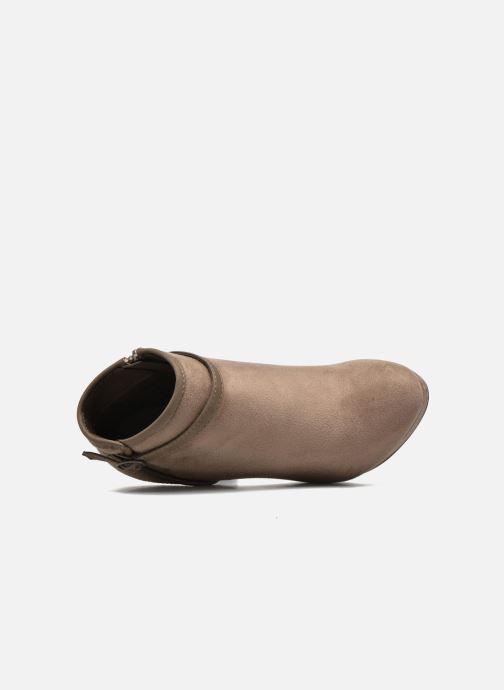 Boots en enkellaarsjes Refresh Alma-61122 Beige links