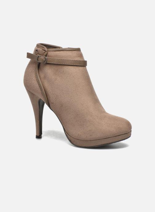Boots en enkellaarsjes Refresh Alma-61122 Beige detail