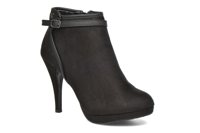 Bottines et boots Refresh Alma-61122 Noir vue détail/paire