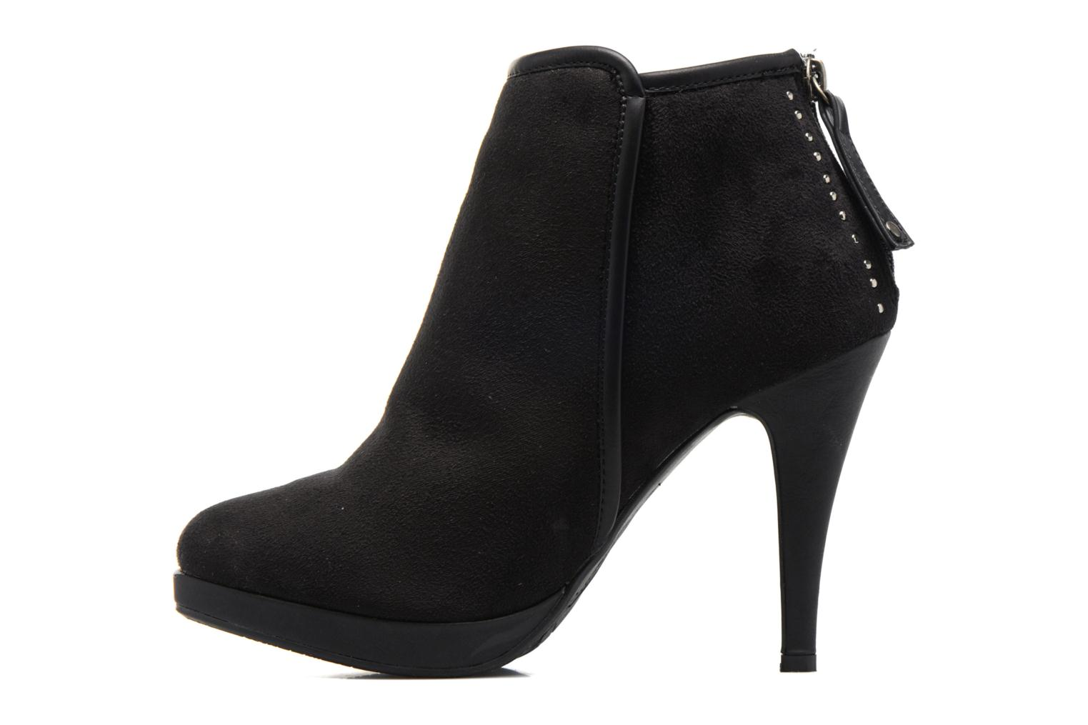 Ankle boots Refresh Elina-61124 Black front view