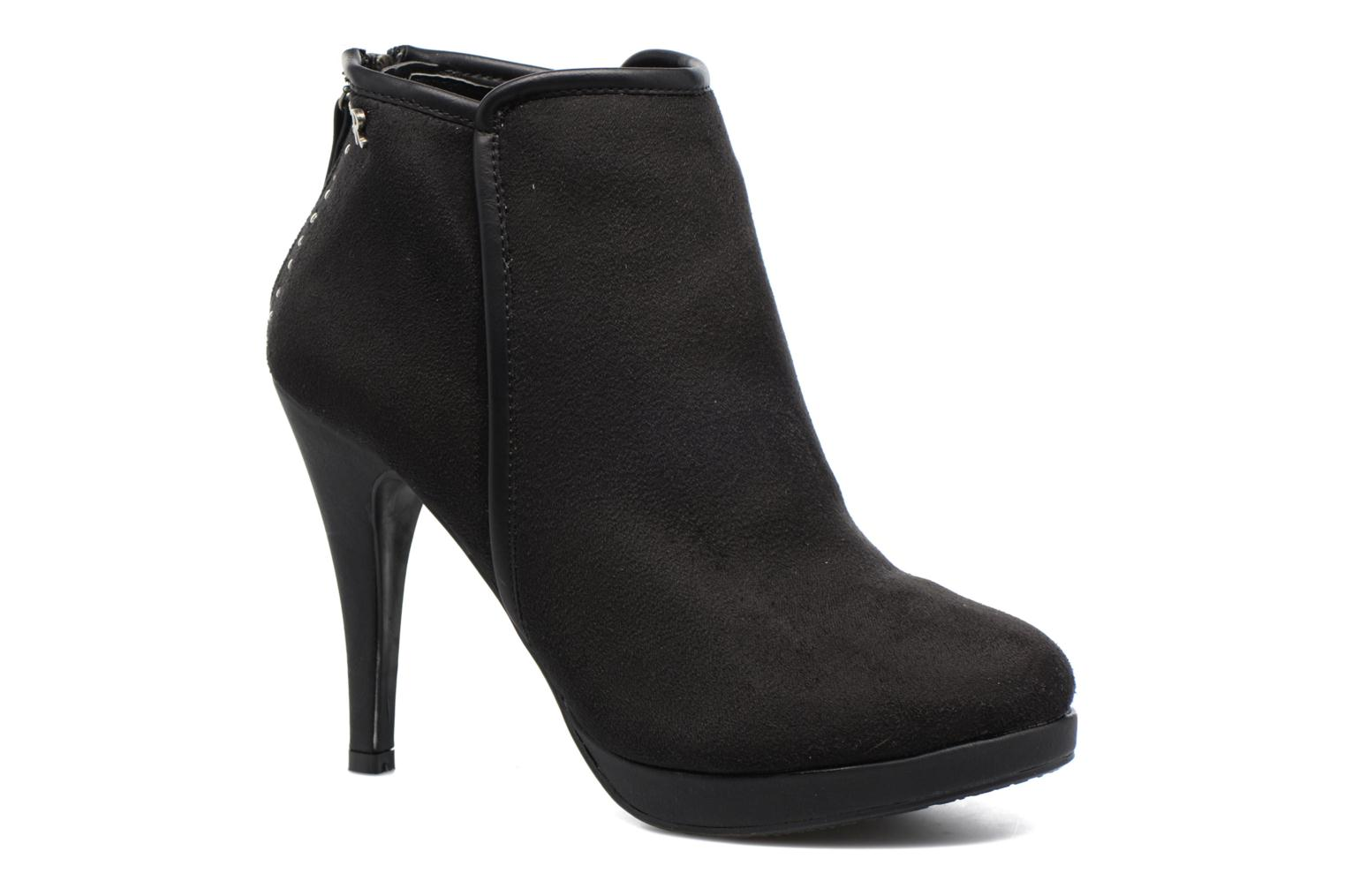 Ankle boots Refresh Elina-61124 Black detailed view/ Pair view