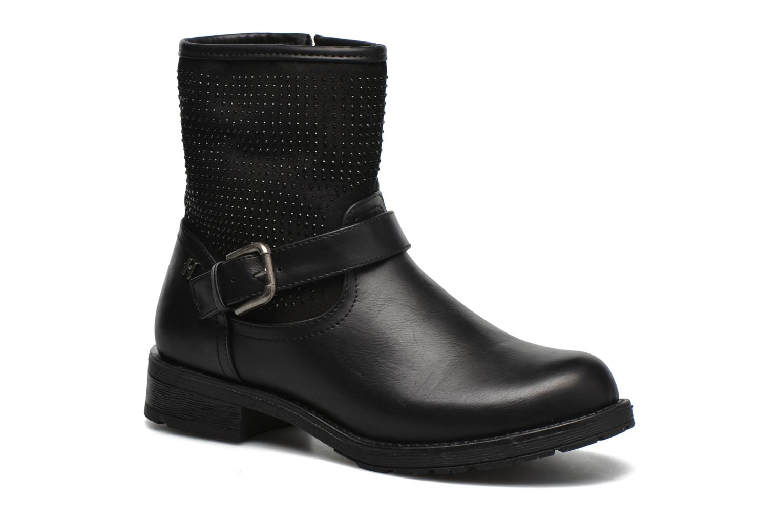 Ankle boots Refresh Elisa-61425 Black detailed view/ Pair view