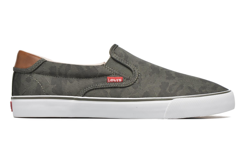 Sneakers Levi's Justin Slip On Verde immagine posteriore