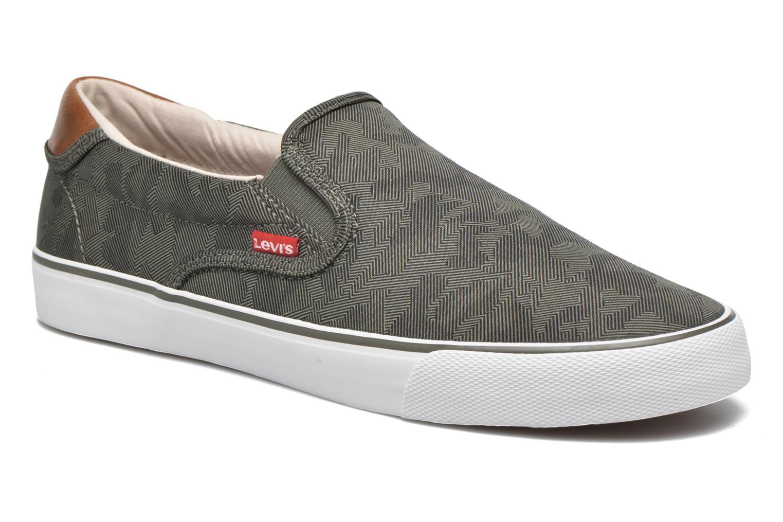 Sneakers Levi's Justin Slip On Verde vedi dettaglio/paio