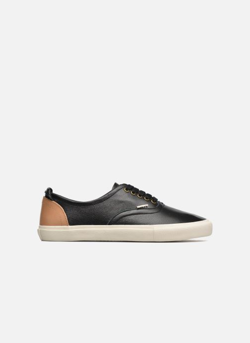 Trainers Levi's White Tab Sneaker Low Black back view
