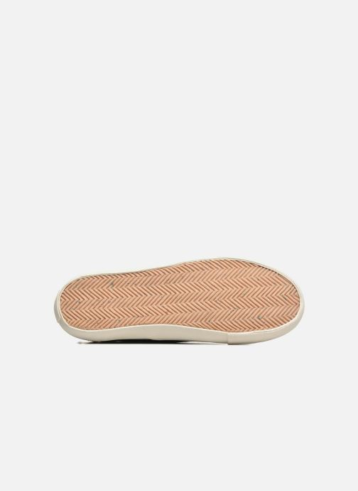 Trainers Levi's White Tab Sneaker Low Black view from above