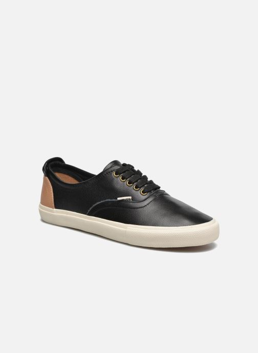 Trainers Levi's White Tab Sneaker Low Black detailed view/ Pair view