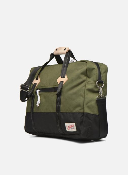 Sports bags Levi's Colorblock Messenger bag Green model view