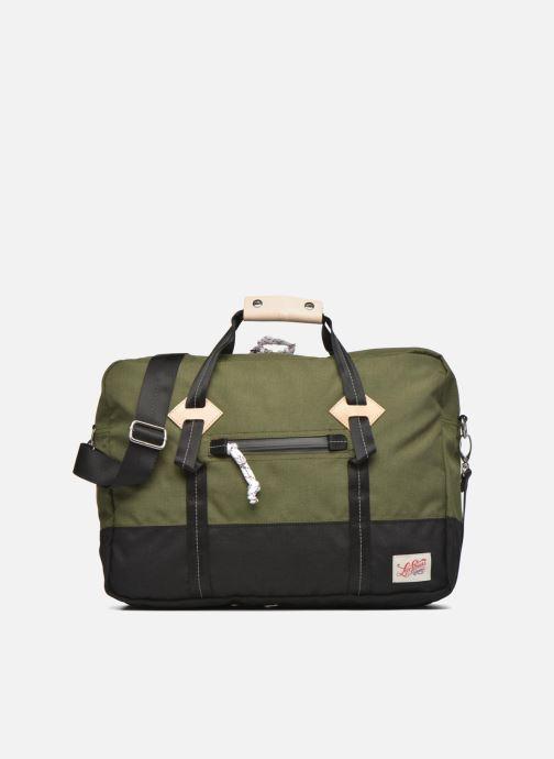 Herrentaschen Levi's Colorblock Messenger bag grün detaillierte ansicht/modell