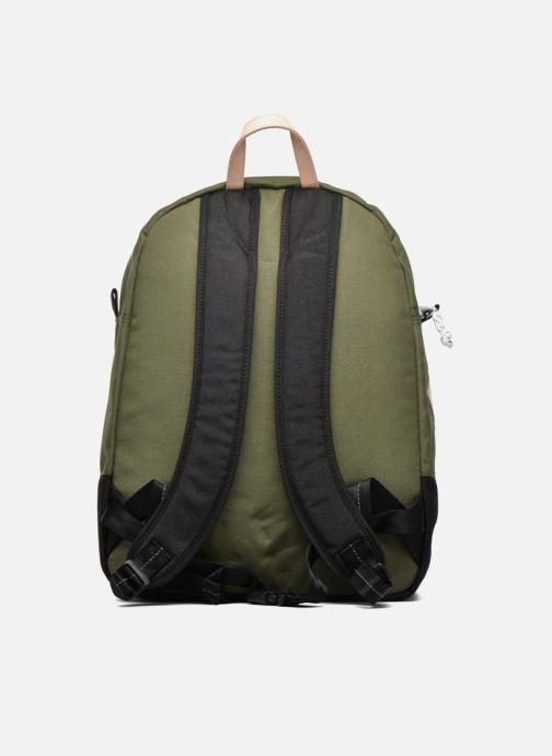 Borse uomo Levi's Colorblock Backpack Verde immagine frontale
