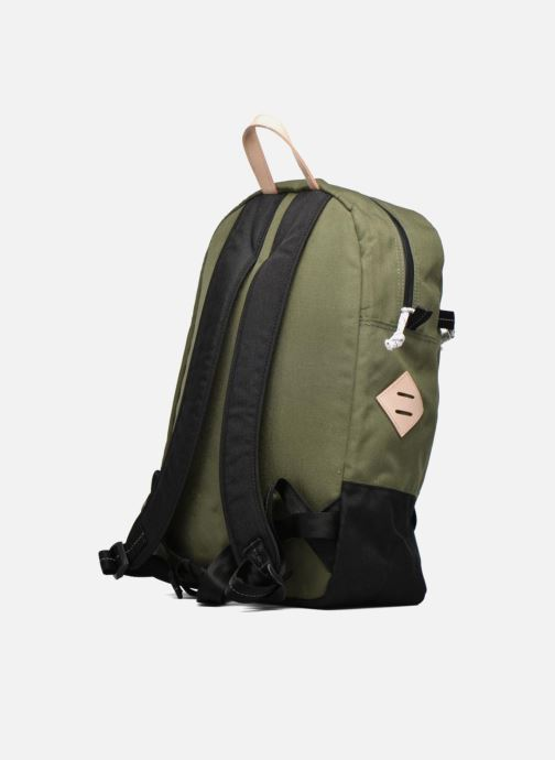 Bolsas de deporte Levi's Colorblock Backpack Verde vista lateral derecha