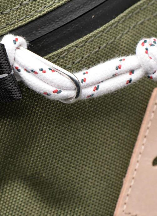 Sporttaschen Levi's Colorblock Backpack grün ansicht von links