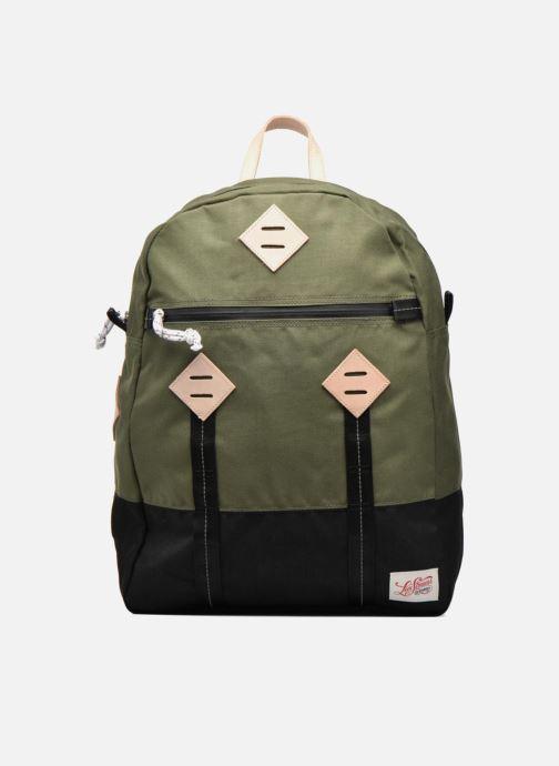 Herentassen Levi's Colorblock Backpack Groen detail