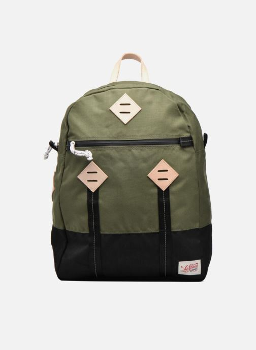 Sporttassen Levi's Colorblock Backpack Groen detail