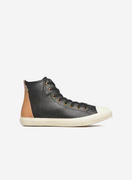 Baskets Levi's White tab sneaker Hi Noir vue derrière