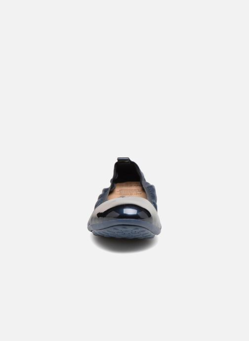 Ballerines Geox J Piuma Ball J62B0B Bleu vue portées chaussures