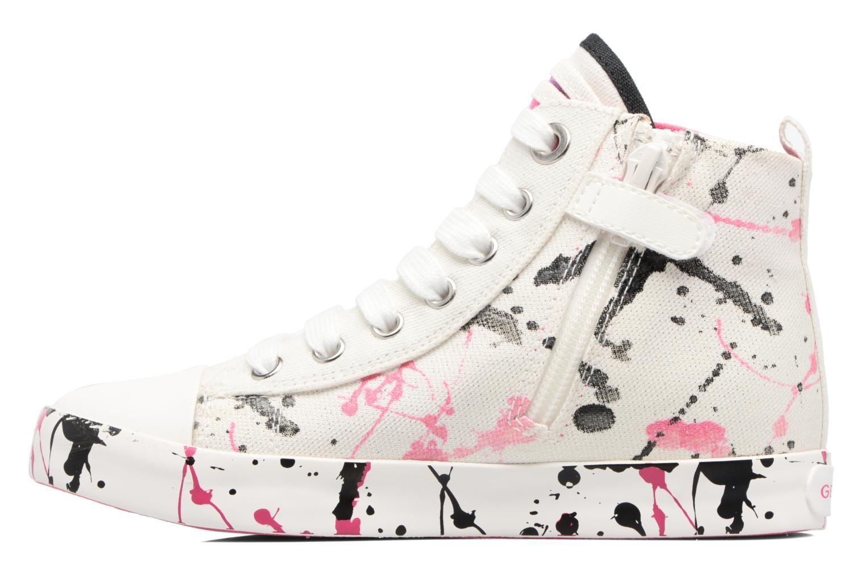 Sneakers Geox J Ciak G. C J7204C Bianco immagine frontale