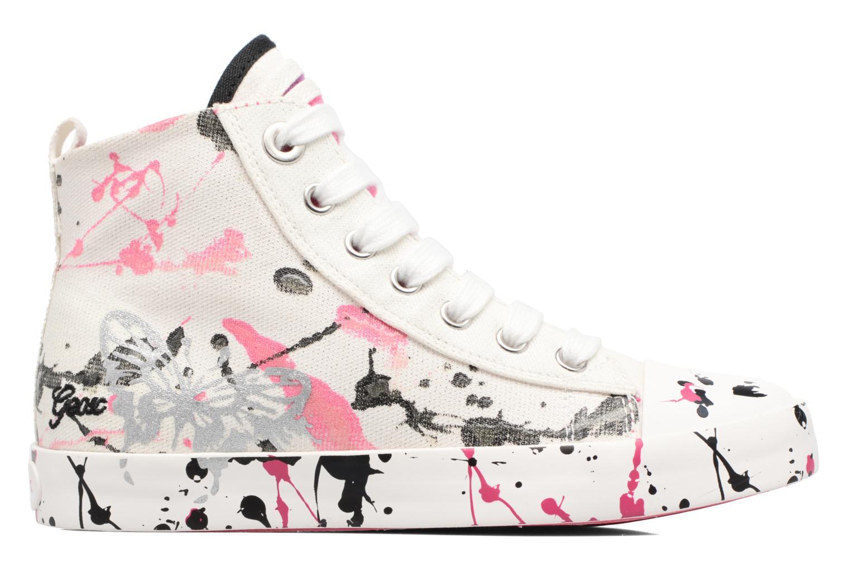 Sneakers Geox J Ciak G. C J7204C Bianco immagine posteriore