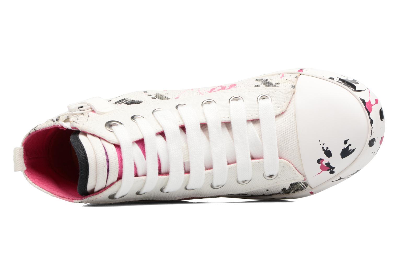 Sneakers Geox J Ciak G. C J7204C Bianco immagine sinistra