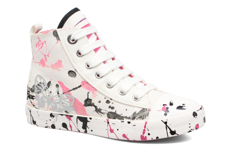 Sneakers Geox J Ciak G. C J7204C Bianco vedi dettaglio/paio