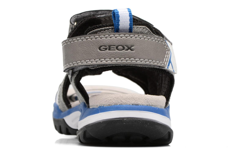 Sandales et nu-pieds Geox J Borealis B. D J720RD Gris vue droite